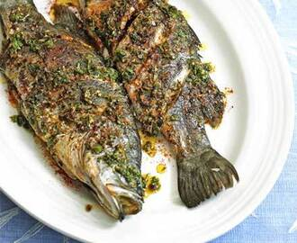 Barramundi with Moroccan spices recipe