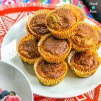 Low Syn Banana and Peanut Muffins | Slimming World