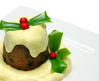 Microwave Christmas Pudding
