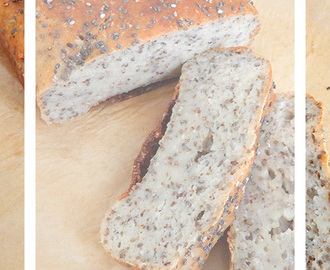 Chia-Quark-Brot {Recipe}