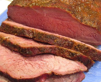 Smoked New York Top Loin Roast