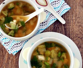 Miso Soup with Tofu – Vegetarian Miso Soup