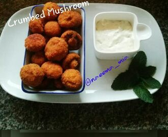 Crumbed Mushrooms
