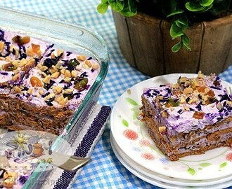 Ube Langkasuy Icebox Cake Recipe