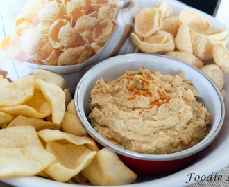 A Quick Hummus Recipe with Simply 7 Snacks