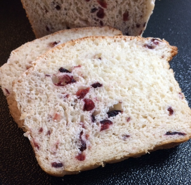 Cranberry~Blueberry Bread