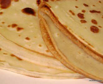 Panqueques o crepes