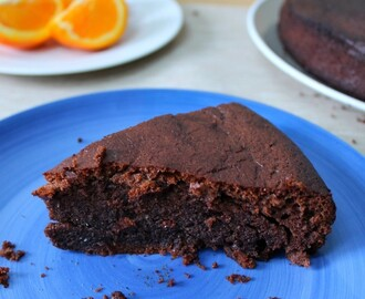 Chocolate Orange Cake Recipe (Grain Free)
