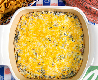 Cracked Out Spinach Dip {Football Friday}