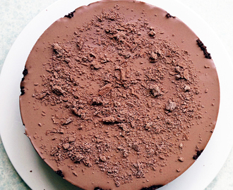 Happy Fathers' Day + No-Bake Chocolate Cheesecake