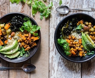 Healthy & Happy Bowl met wakame