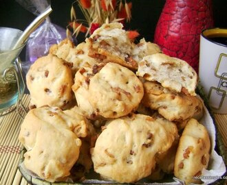 Galletas con chicharrones