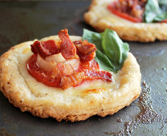 Tomato, Bacon, and Cheese Tarts