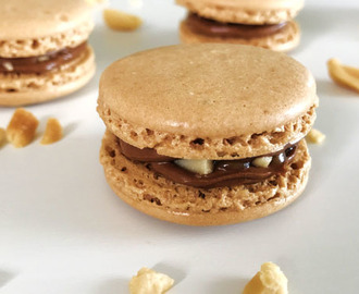 Macarons façon Snickers