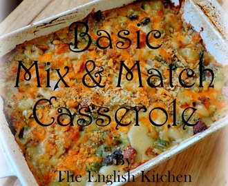 Basic Mix and Match Casserole