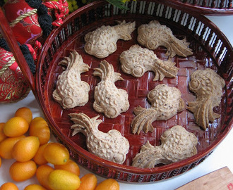 Mung Bean Biscuits For  Chinese New Year