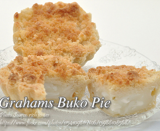 No Bake Grahams Buko Pie