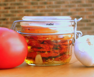 Tomates secos en 20 minutos