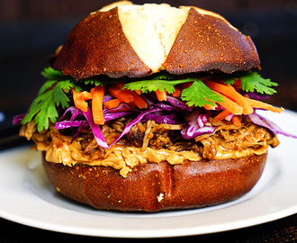 Asian Pulled Pork Slider
