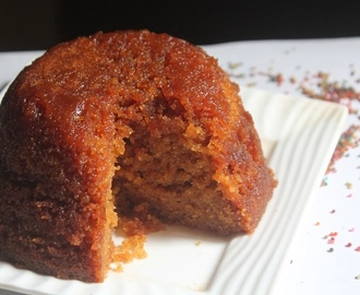 Treacle Sponge Pudding Recipe - Steamed Sponge Pudding Recipe