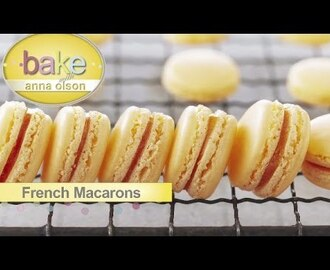Sandwich Cookies and French Macarons | Bake with Anna Olson