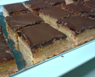 Work catering #18: 2nd attempt at Caramel Slice