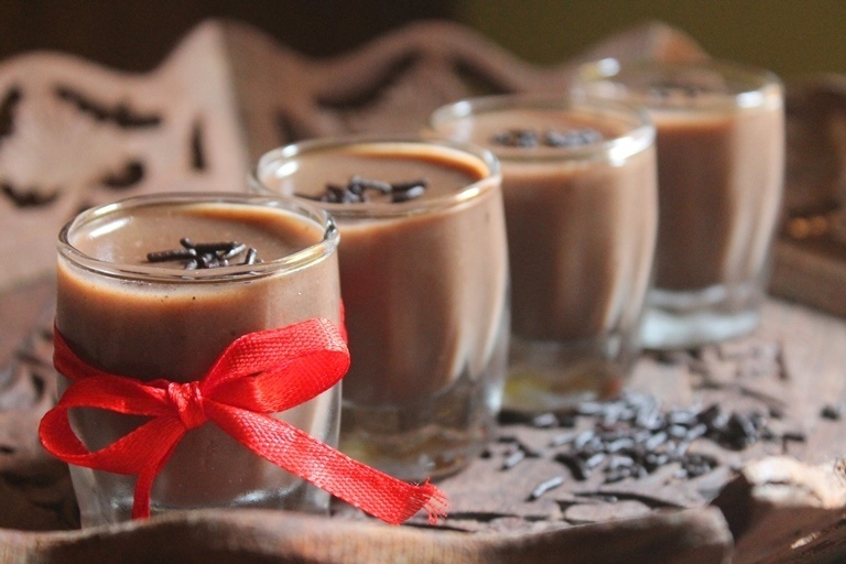 Chocolate Agar Agar Pudding Recipe - Cocoa Pudding Recipe