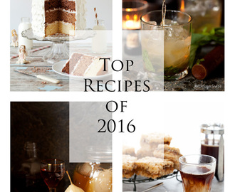 Your Top Ten Recipes of 2016