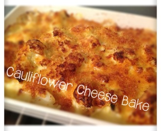 """I Love Your Cauliflower Cheese Bake"" recipe 