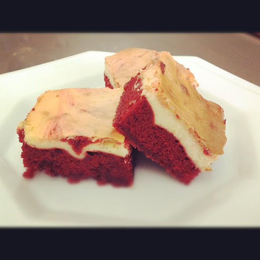 Red Velvet Cheesecake Brownies | Thermomix Recipes