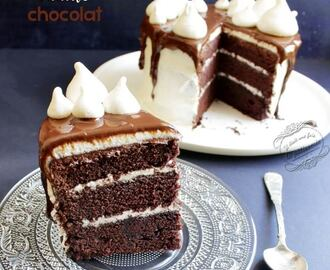 Layer cake vanille chocolat facile