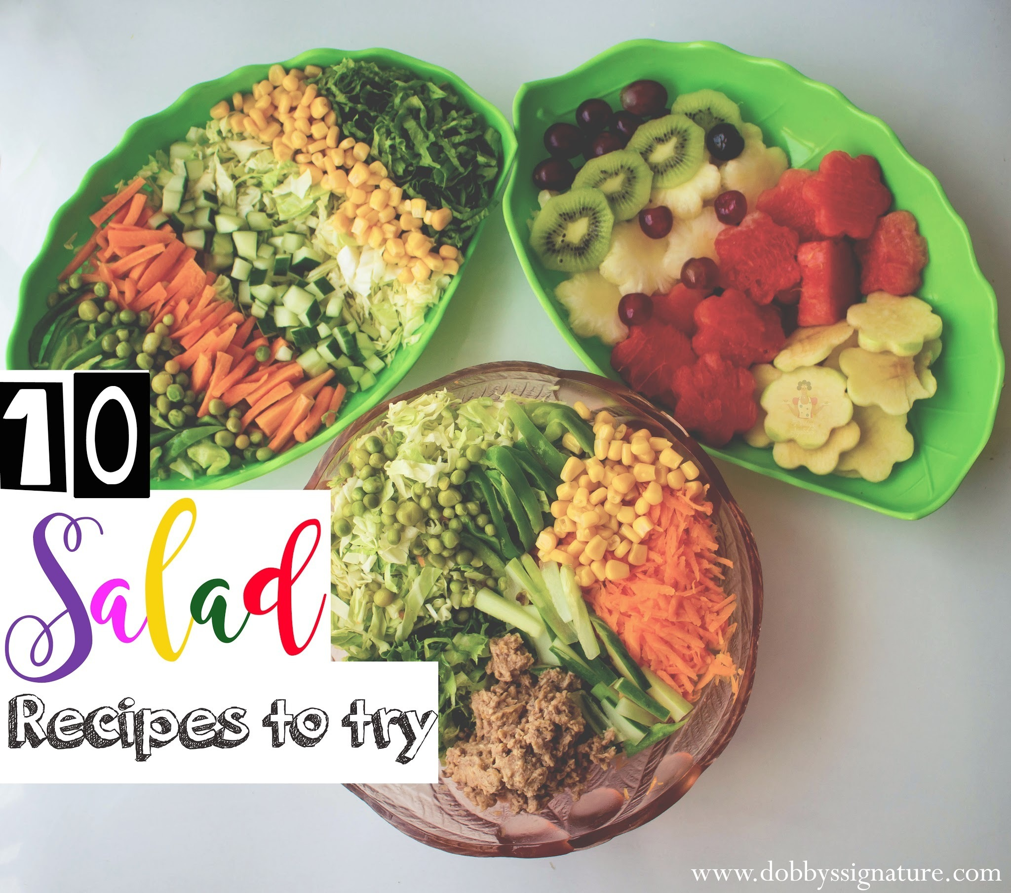 10 salad recipes to try