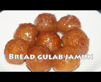 Bread gulab jamun recipe in telugu by siri@siriplaza