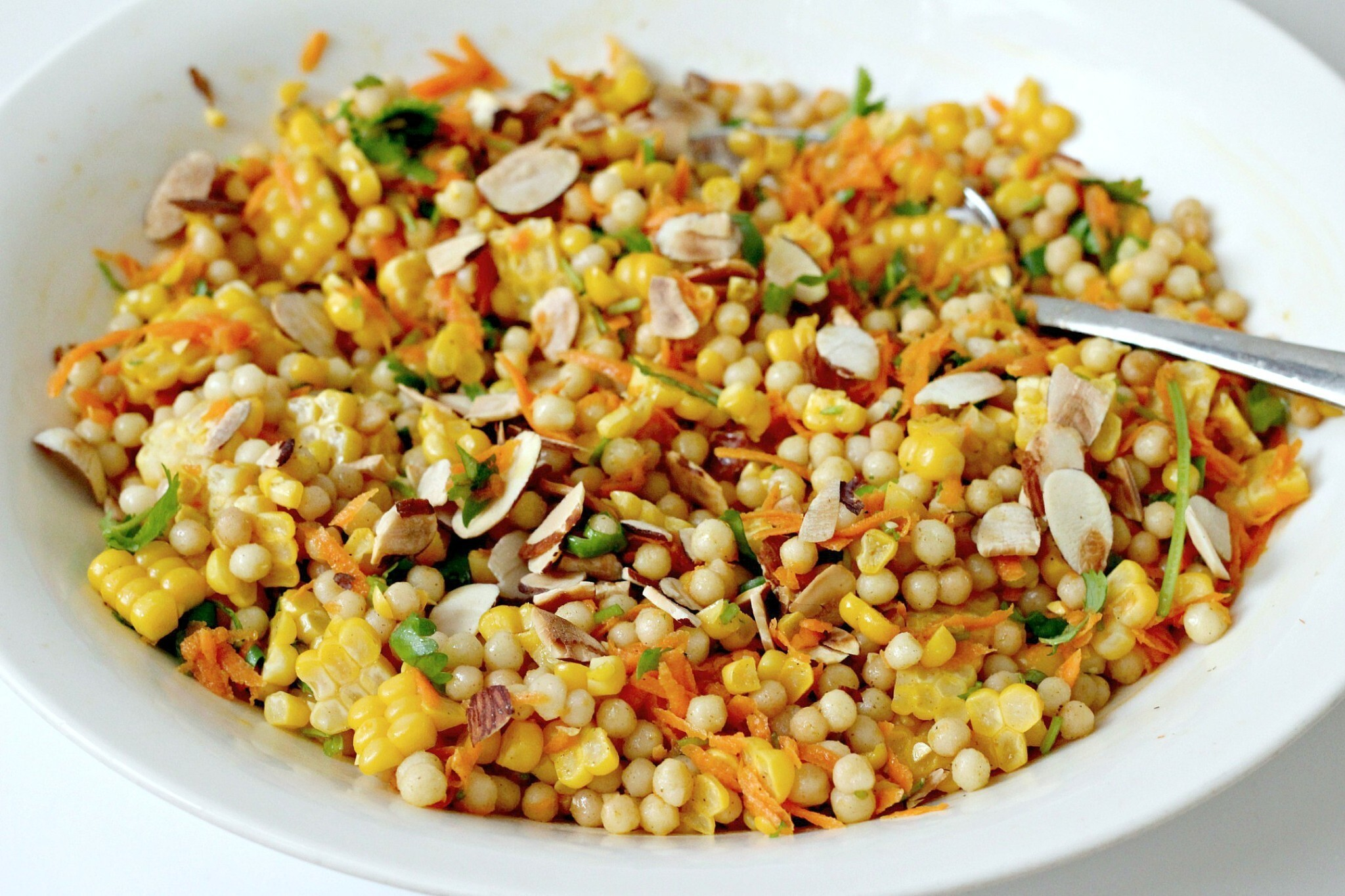 Corn and Israeli Couscous Salad