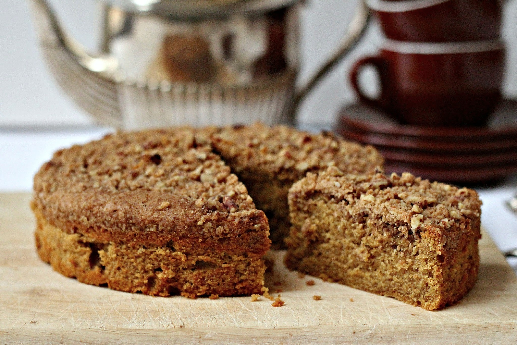 Coffee Crumble Cake