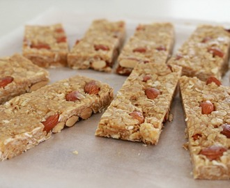 Thermomix Almond & Honey Oat Slice