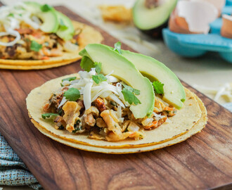 The Tacos of Texas Cookbook Review and Migas Taco