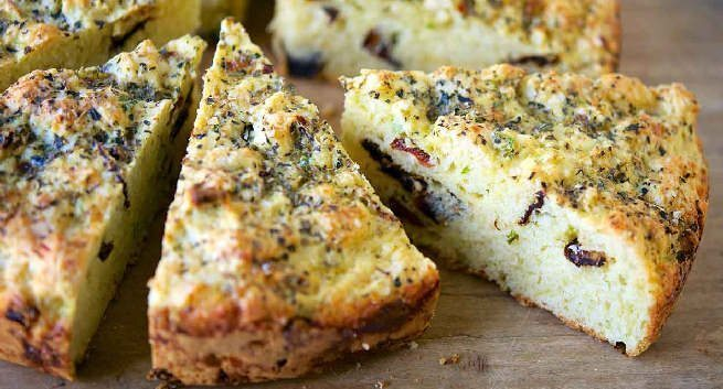 Savoury Cheese Bread