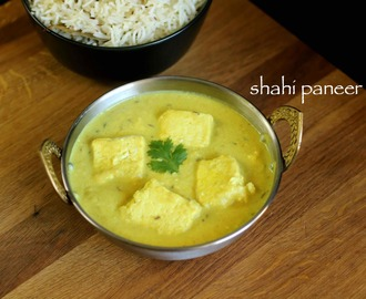 shahi paneer recipe | how to make restaurant style shahi paneer