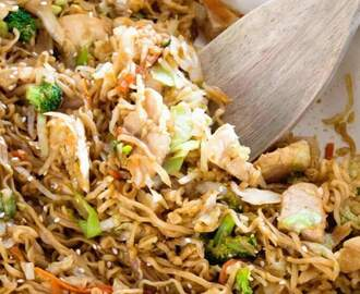 Chicken Ramen Stir-Fry