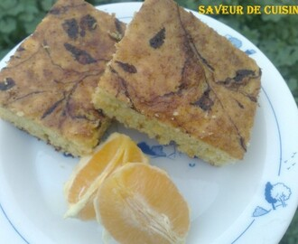 Gâteau d'orange.