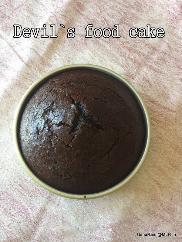 Devil`s Food Cake | Devil's Chocolate Cake Recipe | Coffee Chocolate Cake | Dark Chocolate Cake With Oil | Perfect Chocolate Coffee Sponge Cake Without Butter