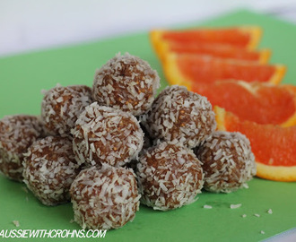 Orange Bliss Balls (Paleo & SCD)