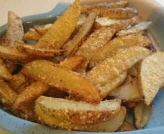 Lohkoperunat (Potato wedges)