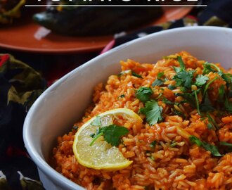 Guest Post: Spanish Tomato Rice by Prachi Garg