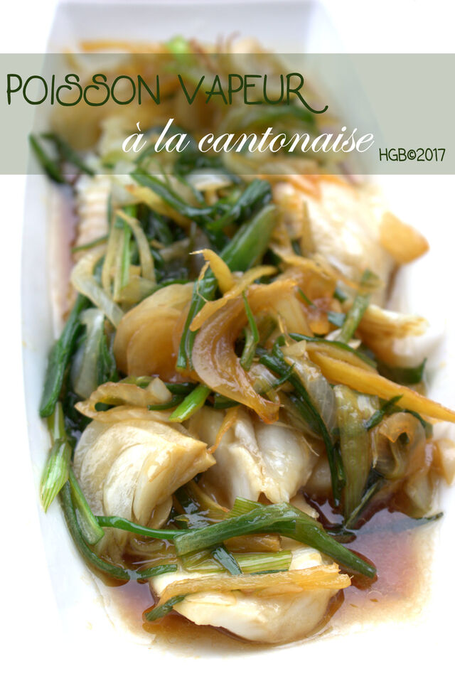 Poisson à la cantonaise (Chine)