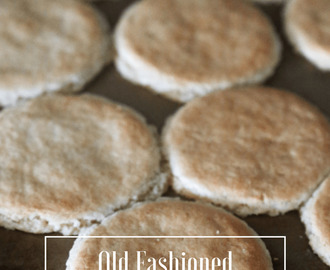 Old Fashioned Tea Cakes
