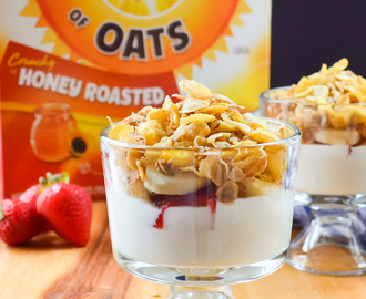 Cereal Breakfast Parfaits