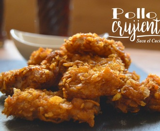 POLLO CRUJIENTE (CRISPY CHICKEN)