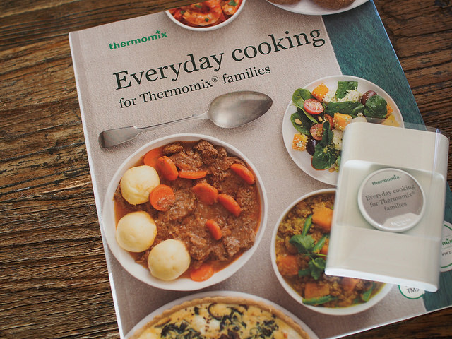 Everyday Cooking for Thermomix Families and recipe chip